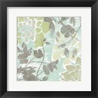 Dahlias & Petals II Framed Print