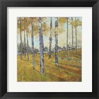 Thicket on the Hill I Framed Print
