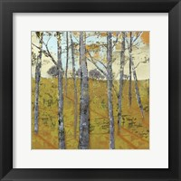 Thicket on the Hill II Framed Print