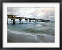 Slow Motion Ocean I Framed Print
