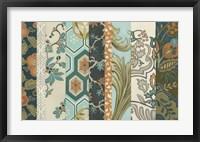 Textile Strata I Framed Print