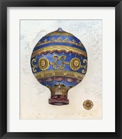 Vintage Hot Air Balloons V Framed Print