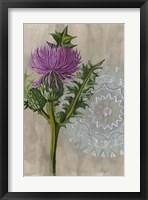 Bohemian Botanical II Framed Print