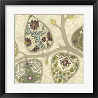 Patterns in Foliage I Framed Print