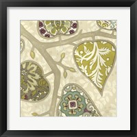 Patterns in Foliage II Framed Print