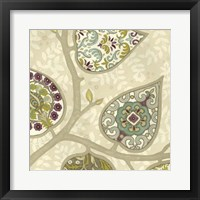 Patterns in Foliage III Framed Print