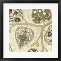 Patterns in Foliage IV Framed Print