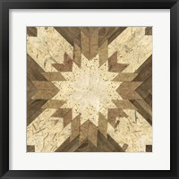 Lancaster Tile I Framed Print