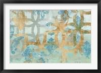 Pattern Construct II Framed Print