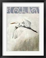 Waterbirds in Mist II Framed Print