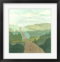 Countryside Collage II Framed Print