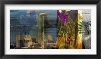 Fort Worth Collage II Framed Print
