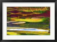 Golf Abstract II Framed Print