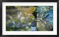 River Mod Panel II Framed Print