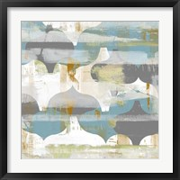 Arabesque Abstract II Framed Print