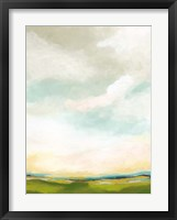 Bright Vista II Framed Print