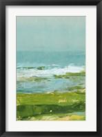 Coastal Overlook II Framed Print