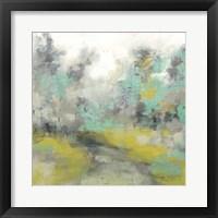 Framed Pastel Walk II