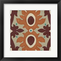 Global Motif IV Framed Print