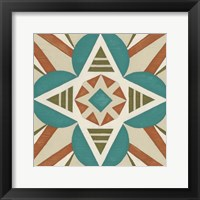 Global Motif IX Framed Print