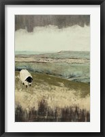 Open Meadow I Framed Print
