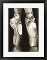 Framed Ballet Shoes II