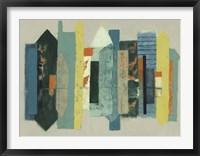 Urban Echo II Framed Print