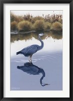 Framed Blackwater Reflections I