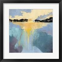 Back Bay Sun I Framed Print