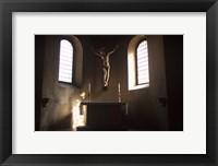 Framed Italy Altar Cross Chapel