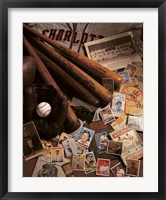 Baseball 2 Framed Print