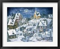 Framed Hidden Mountain Village