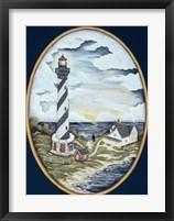 Framed Cape Hatteras Lighthouse