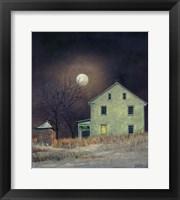 Framed Oak Moon