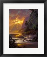 Framed Spill of the Evening Light