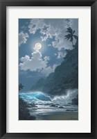 Framed Midnight Rhapsody