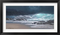 Framed Sweeping Ocean Tide