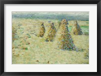 Framed Haystacks In Normandy, 1887-89