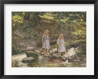 Framed Stepping Stones, 1893