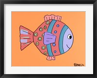 Framed Rose Fish