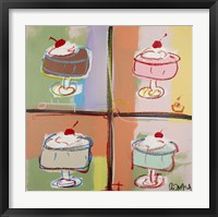 Sundae will Never be the Same Framed Print