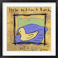 Framed How to Draw A Duck