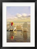 Framed Chairs on the Beach