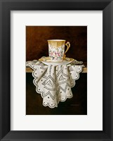 Framed Demi Cup & Lace Cropped