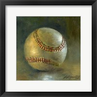 Baseball 8 Framed Print