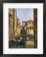 Framed Venice II