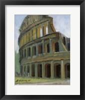 Framed Roman Colosseum