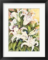 Framed Lilies Basking in the Sun