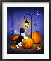Autumn Twilight Framed Print