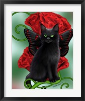 Garnet Cat Framed Print